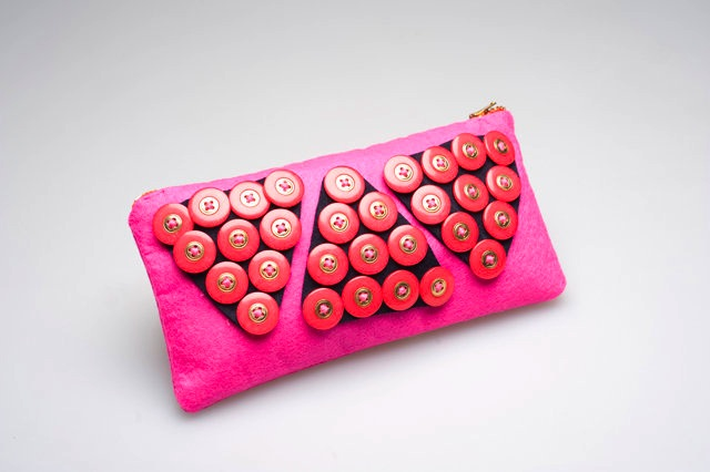 Clutch bag by handiworkbaby, wing choi