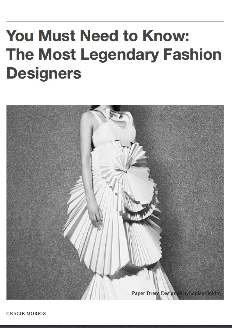 Cover_You Must Need To Know-The Most Legendary Fashion Designers